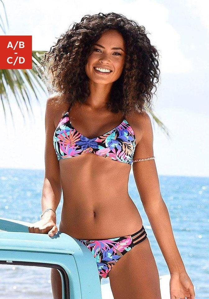 Bademode - Bench. Triangel Bikini Top »Pitch«, mit stylischer Rückenlösung ›  - Onlineshop OTTO
