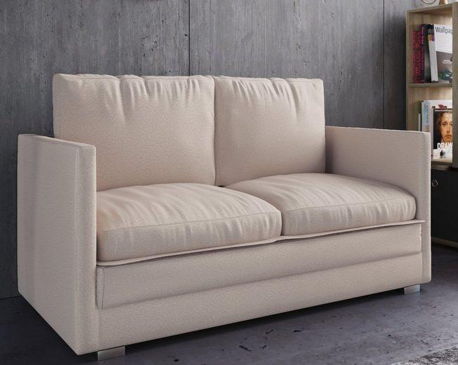 "VCM 2er Couch mit Schlaffunktion ""Ondal°"