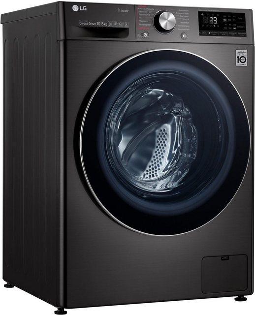 LG Waschmaschine Serie 9 F4WV910P2S, 10,5 kg, 1400 U/Min | Bad > Waschmaschinen und Trockner > Frontlader | LG