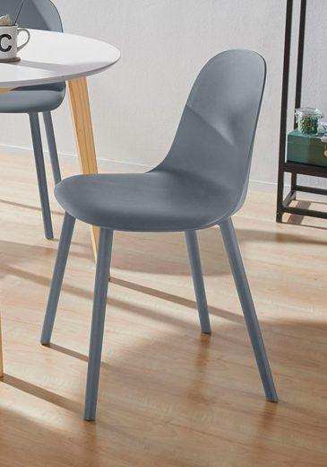 INOSIGN 4-Fußstuhl »Sion« Beine aus Kunststoff, in unterschiedlichen Trendfarben erhältlich