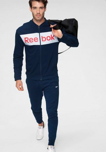 Reebok Trainingsanzug »TE Linear Logo FT T« (Set, 2-tlg)