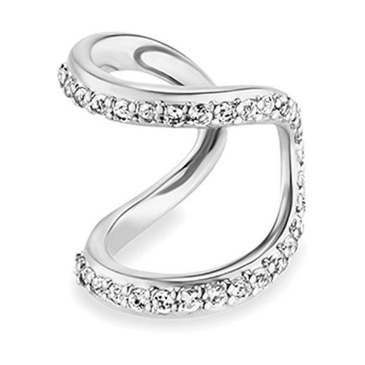 CAÏ Ear Cuff »925/-Sterling Silber rhodiniert Topas«