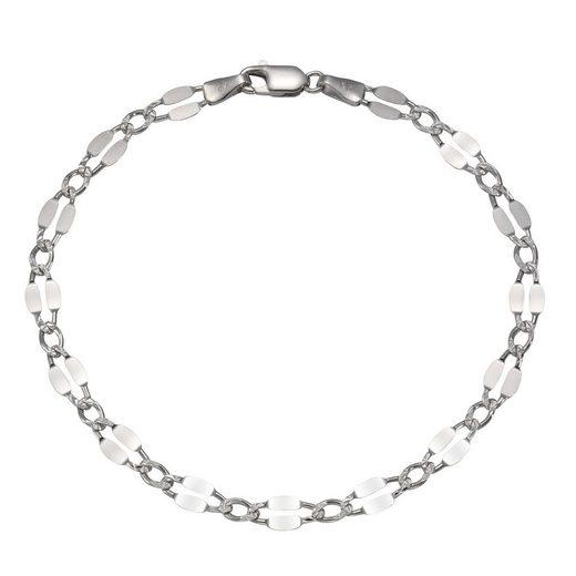 Vivance Armband »925/- Sterling Silber rhod. Zwischen-Ösen«
