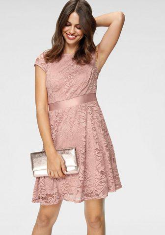 LAURA SCOTT Nėriniuota suknelė