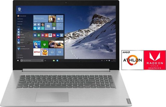 Lenovo 81LY001DGE Notebook (43,9 cm/17,3 Zoll, AMD, 1000 GB HDD, 128 GB SSD)