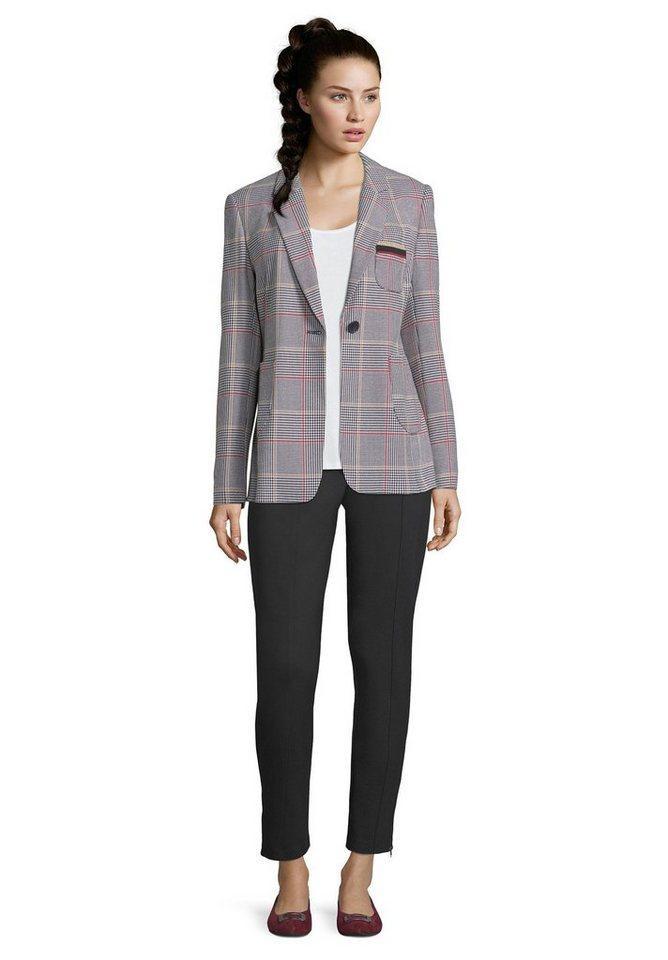Betty Barclay Longblazer mit aufgesetzten Taschen | Bekleidung > Blazer > Longblazer | Schwarz | Betty Barclay