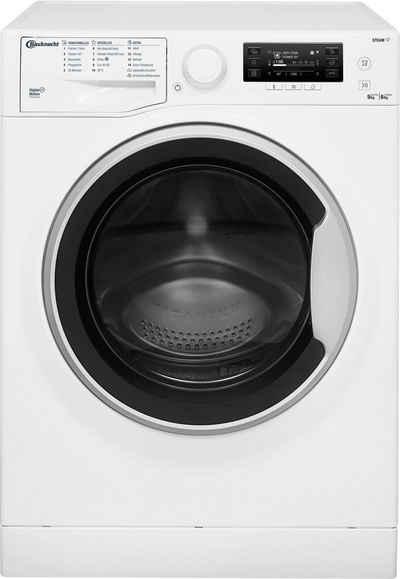 BAUKNECHT Waschtrockner WATK Pure 96L4 DE N, 9 kg, 6 kg, 1400 U/min