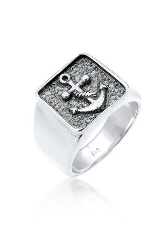 KUZZOI Žiedas Vyriškas Žiedas Anker Symbol Ox...