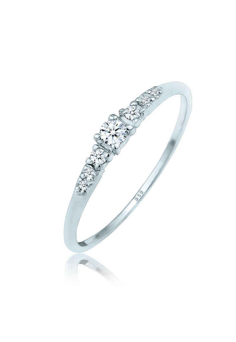 Diamore Verlobungsring »Verlobung Diamanten (0.14 ct) 585 Gold«