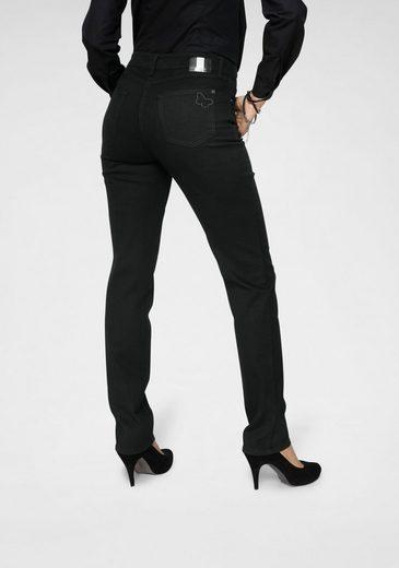 MAC 5-Pocket-Jeans »Melanie-Butterfly« Mit Glitzernieten