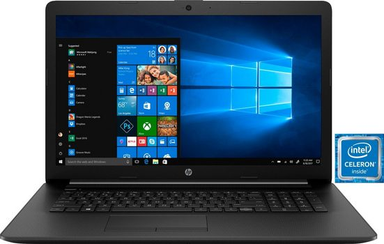 HP 17-by0236ng Notebook (43,9 cm/17,3 Zoll, Intel Celeron, 1000 GB HDD)