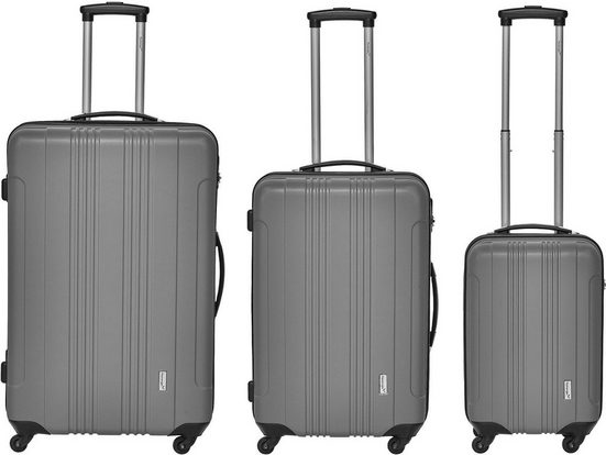 Packenger Trolleyset »Torreto«, 4 Rollen, (3 tlg)