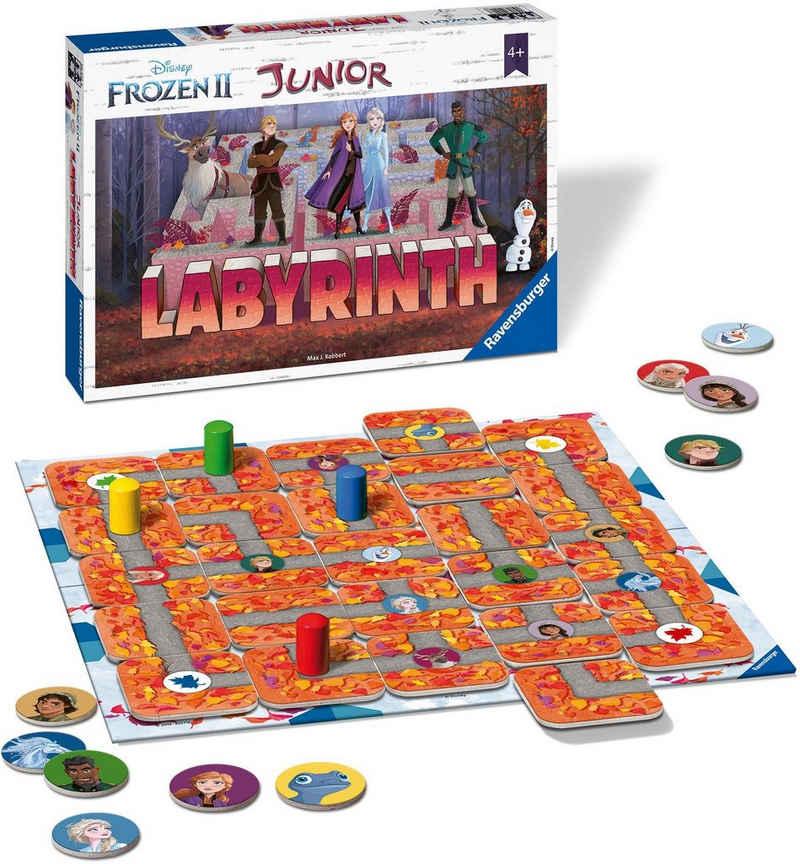Ravensburger Spiel, »Disney Frozen II, Junior Labyrinth«, Made in Europe, FSC® - schützt Wald - weltweit