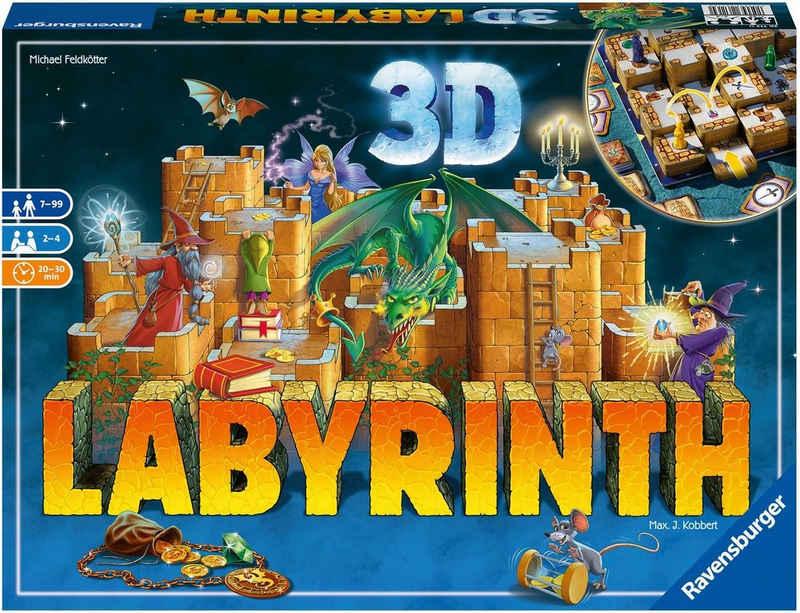 Ravensburger Spiel, »3D Labyrinth«, Made in Europe, FSC® - schützt Wald - weltweit