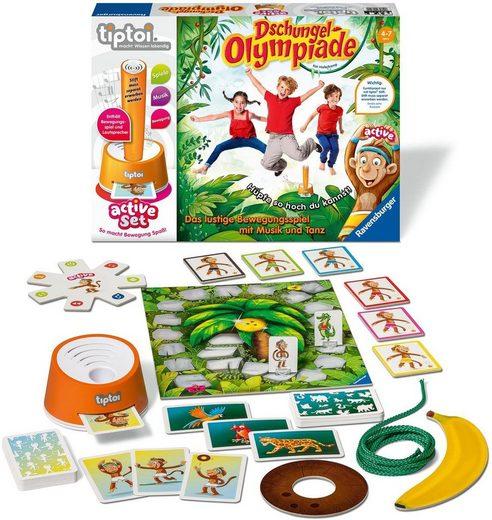 Ravensburger Spiel, »tiptoi® active Set Dschungel-Olympiade«, Made in Europe, FSC® - schützt Wald - weltweit