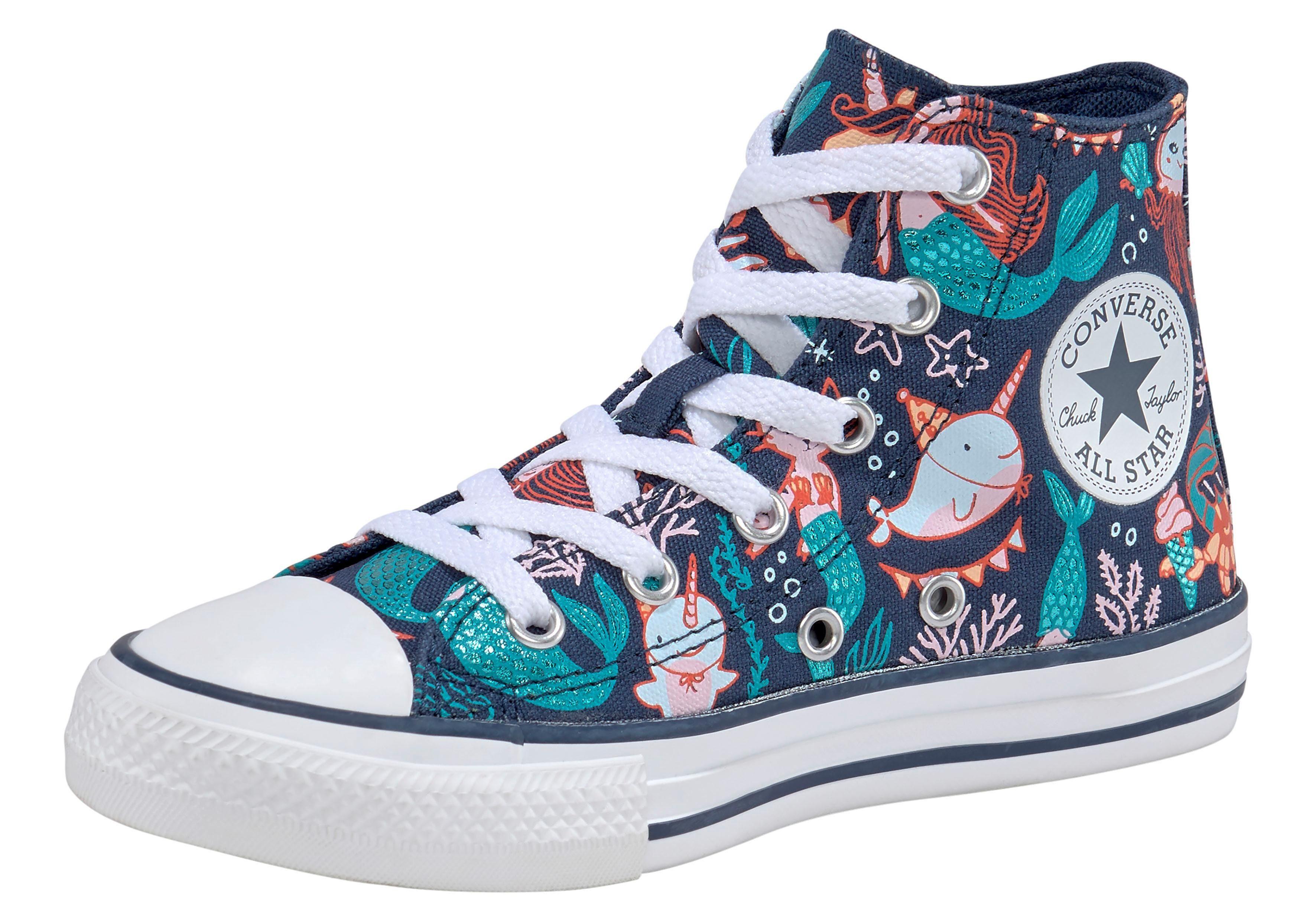 Converse »Kinder CHUCK TAYLOR ALL STAR HI Mermaid« Sneaker online kaufen | OTTO