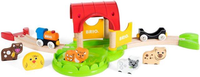 Image of BRIO - Mein erster BRIO Bahn Bauernhof mit Sound