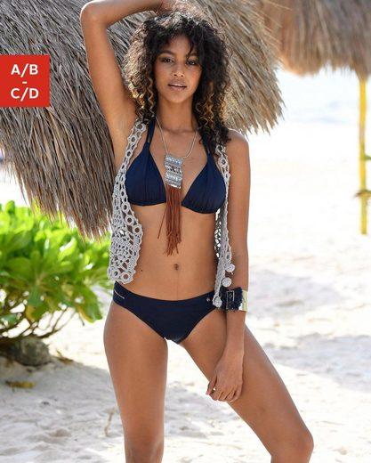 s.Oliver Beachwear Triangel-Bikini-Top »Spain«, mit Raffung und Doppelträger
