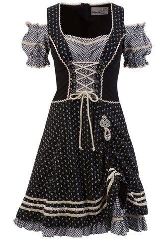 MARJO Tautinio stiliaus suknelė im raštų der...