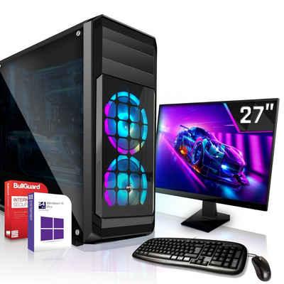 SYSTEMTREFF »Office Edition 55164« Business-PC-Komplettsystem (AMD A10 9700, Radeon HD R7 - max. 4GB - HyperMemory, 8 GB RAM, 1000 GB HDD, 120 GB SSD)