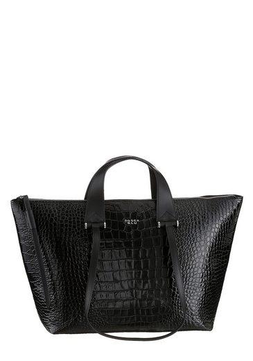 TOSCA BLU Shopper »OLGA«, mit modischer Reptil Prägung aus hochwertigem Leder