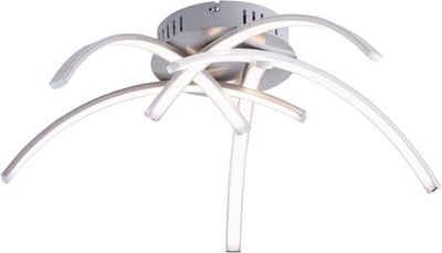 Leuchten Direkt Deckenleuchte »VALERIE«, inklusive festverbautem LED-Leuchtmittel