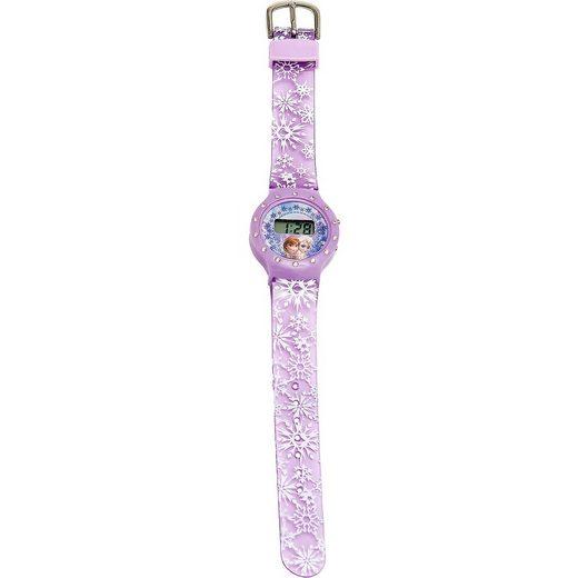 Joy Toy LCD Uhr mit Strass-Steinen Die Eiskönigin