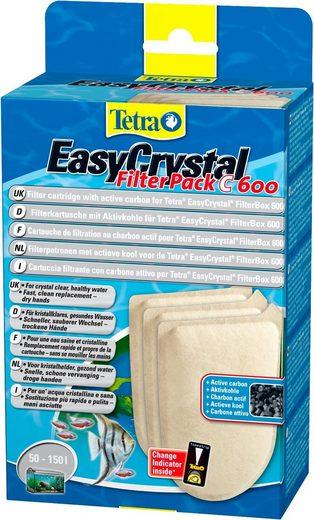 Tetra Filterkartusche »Tetra Easy Crystal Filter Pack 600« mit Aktivkohle, 2er Set