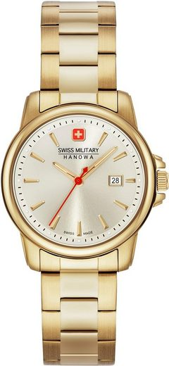 Swiss Military Hanowa Schweizer Uhr »SWISS RECRUIT LADY II, 06-7230.7.02.002«