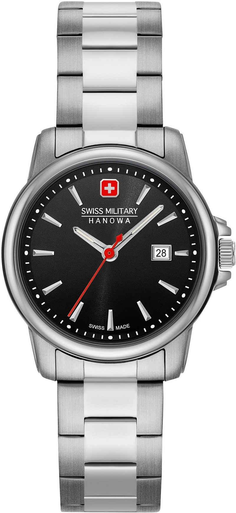 Swiss Military Hanowa Schweizer Uhr »SWISS RECRUIT LADY II, 06-7230.7.04.007«
