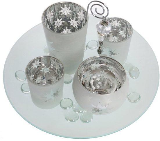 Teelichthalter »Solmas« (Set, 5 Stück)