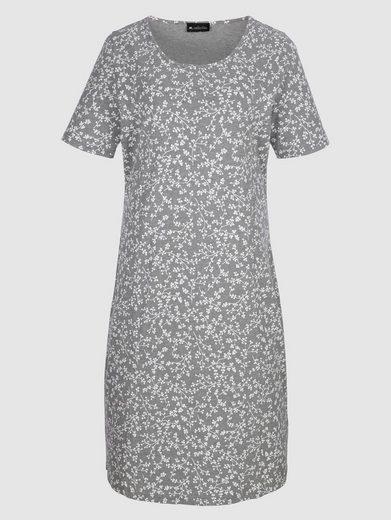 m. collection Shirtkleid mit Bindeband zur Regulierung der Weite