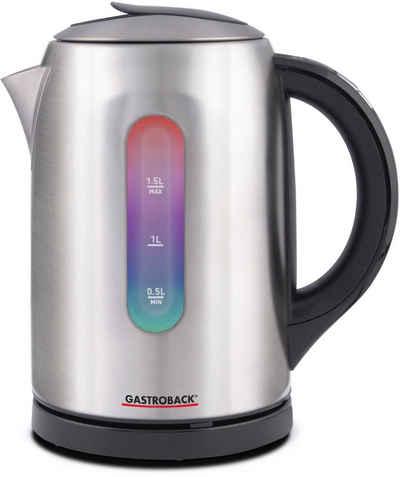 Gastroback Wasserkocher 42427, 1,5 l, 2400 W