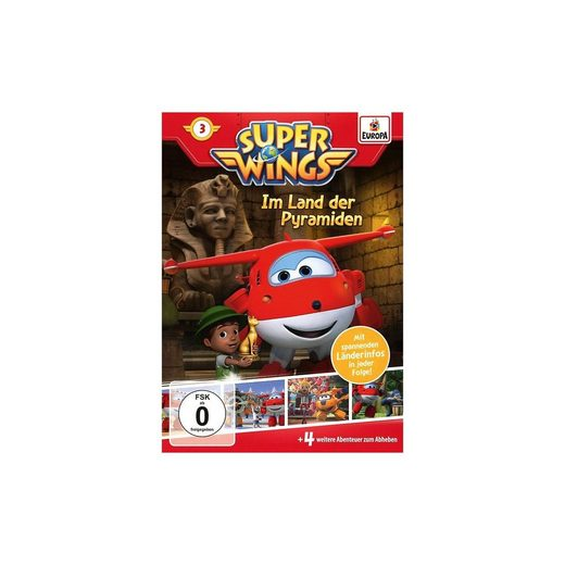 Sony DVD Super Wings 3 - Im Land der Pyramiden