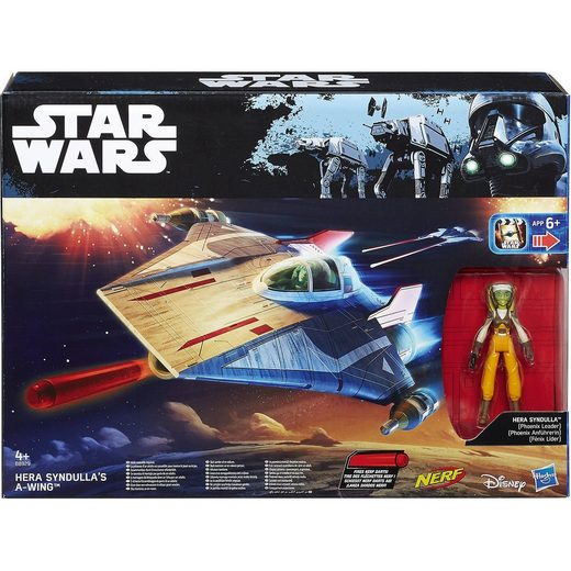 Hasbro Star Wars Rogue One - Class II Fahrzeuge mit Actionfigur, So