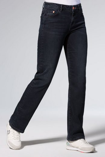 SOCCX Comfort-fit-Jeans mit Stretch-Anteil