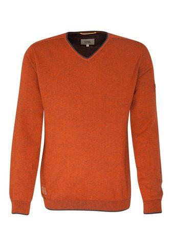 Пуловер с V-образным вырезом »&l...
