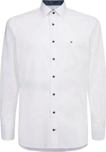 Tommy Hilfiger Langarmhemd »PLAIN REG SHIRT«