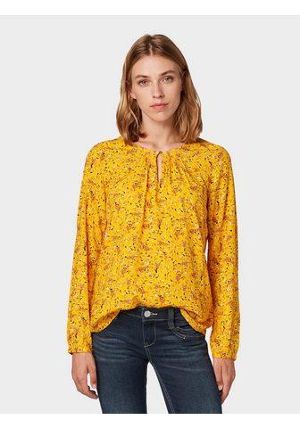 Блузка-футболка Блузка с Allover-Muste...