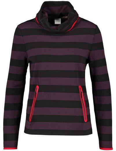 Taifun Sweatshirt »Sweatshirt im Streifen-Design«