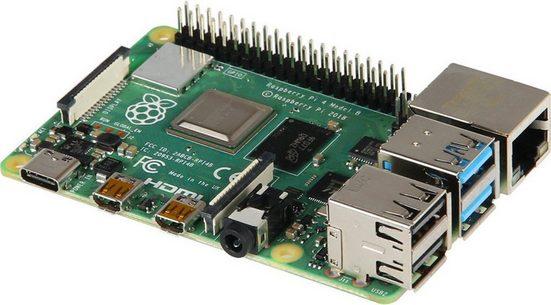 Raspberry Pi Foundation Mini-PC »Pi 4 4GB + Gehäuse + NT + 32GB + HDMI Kabel«