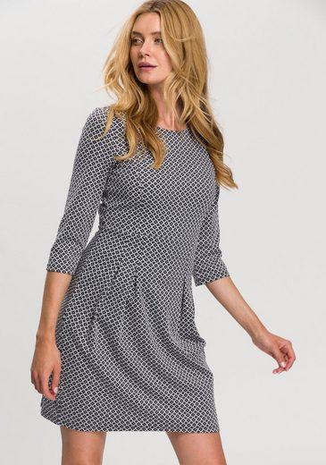 Esprit A-Linien-Kleid mit gemusterter und strukturierter Oberfläche