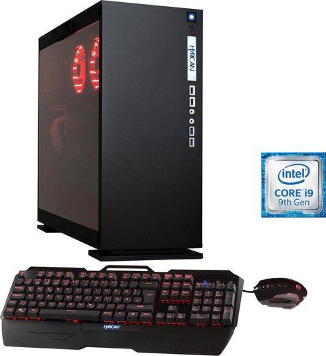 Hyrican Elegance 6417 Gaming-PC (Intel® Core i9, RTX 2080, 32 GB RAM, 3000 GB HDD, 2000 GB SSD, Wasserkühlung)