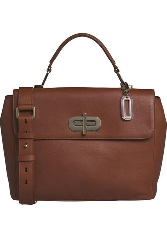 TOMMY HILFIGER Rankinė »ELEVATED LEATHER SATCHEL«