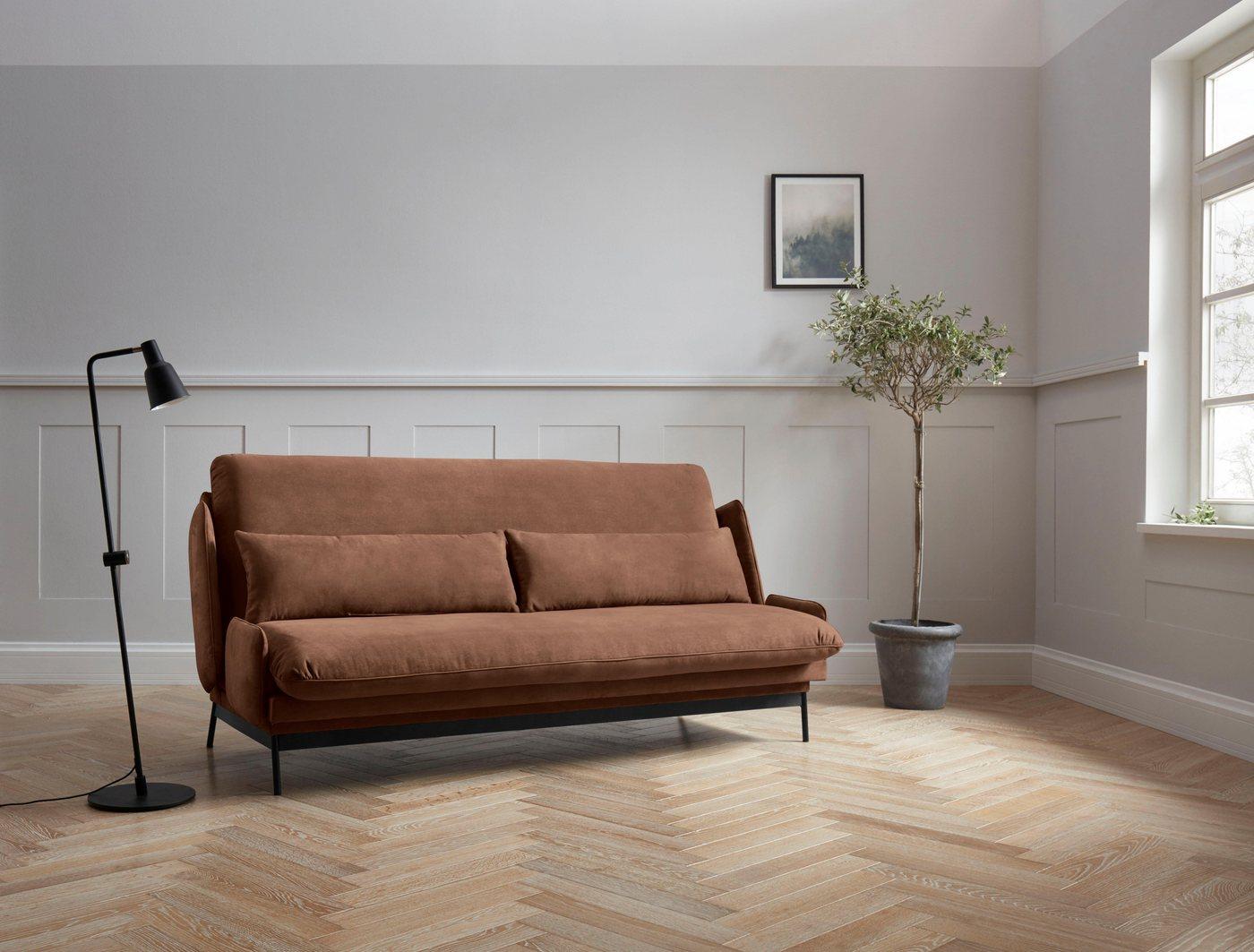 Schlafsofas - andas Schlafsofa »Skibby«, Breite 220cm, klappbar, in 3 Qualitäten, Design by Morten Georgsen  - Onlineshop OTTO