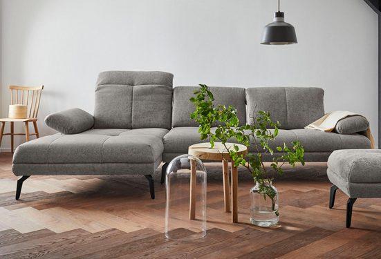 andas Ecksofa »Stenlille«, incl. Sitztiefen-, Kopfteil- und Armteilverstellung, Design by Morten Georgsen