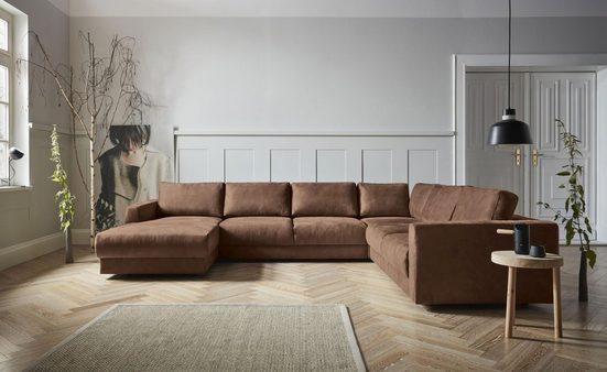 andas Wohnlandschaft »Hobro«, in 3 Bezugsqualitäten in vielen Farben, Design by Morten Georgsen