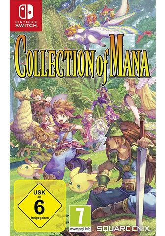 Collection of Mana Nintendo Switch