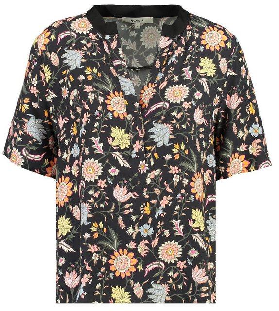 Garcia Klassische Bluse mit Blumen-Print | Bekleidung > Blusen > Klassische Blusen | Garcia