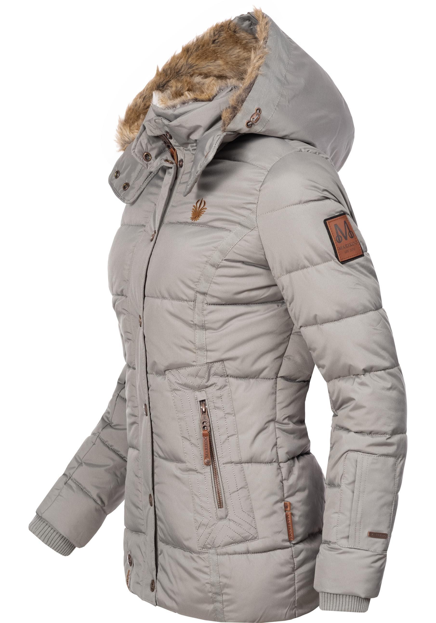 Großer Kapuze Mit Steppjacke Damen Online KaufenOtto Marikoo Stylische Winterjacke »nekoo« q3Ac54LRj